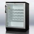 Bottle Cooler with Glass Door, 87389