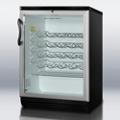 Bottle Cooler with Glass Door, 87389