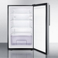 Stainless Steel Door Refrigerator - 4.1 Cubic Ft, 87392