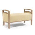 """Bench with Handles - 44""""W, 26232"""