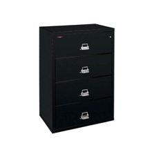"Four Drawer Fireproof Lateral File - 38""W, 30160"
