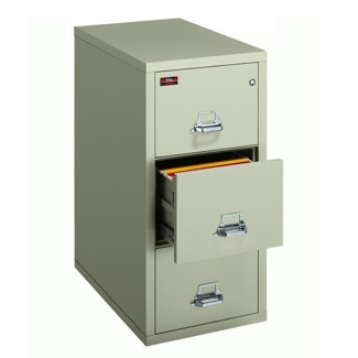 Two-Hour Rated Fireproof Three Drawer Vertical Legal File, 34306