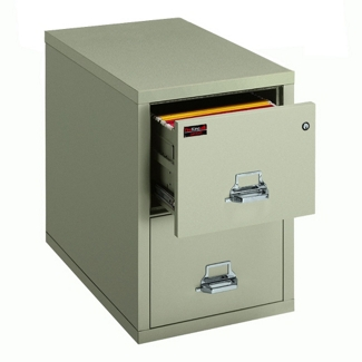 Two-Hour Rated Fireproof Two Drawer Vertical Legal File, 34308