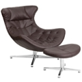 Lounge Chair with Ottoman, 50053