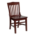 Armless Wood Chair, 55137
