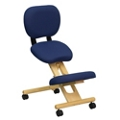 Kneel Chair with Backrest, 56628