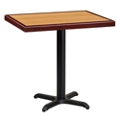 "Standard Height Table with X Base - 30""W x 24""D, 44330"
