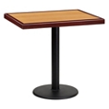 "Standard Height Table with Round Base - 30""W x 24""D, 44331"