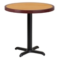 "Standard Height Table with X Base - 30""DIA, 44340"