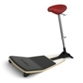 Leaning Stool with Anti-Fatigue Mat by Focal Upright, 50934