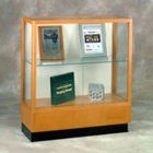 Counter Height Classic Display Case with Fabric Backing, 31168