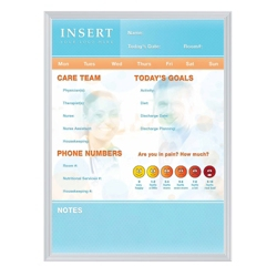 """Patient Whiteboard with Aluminum Frame - 24"""" x 36"""", 80298"""
