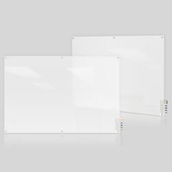 6' W x 4' H Square Corner Frosted Glass Board, 80504