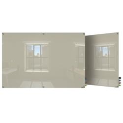 6' W x 4' H Square Corner Glass Board, 80509