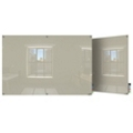 6' W x 4' H Square Corner Glass Board, 80509