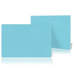 3' W x 2' H Magnetic Radius Corner Glass Board, 80511