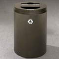 Round Painted Mixed Recycling and Waste Bin, 85763
