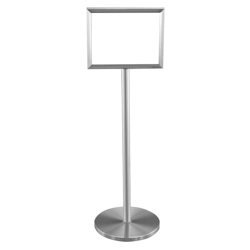 "Double Sided Standing Sign Holder - 11"" x 14"", 87511"