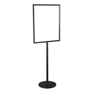 "Double Sided Standing Sign Holder - 28"" x 22"", 87513"