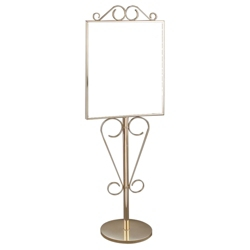 """Double Sided Scroll Sign Holder - 22"""" x 28"""", 87516"""