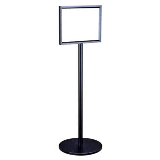 "Standing Directory with Satin Aluminum Finish - 11"" x 14"", 87520"