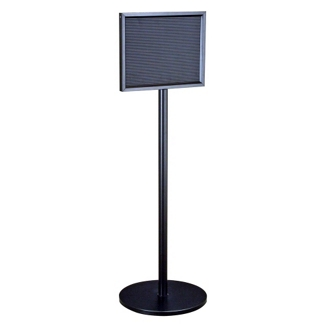 "Standing Directory in Satin Black Finish - 22"" x 14"", 87523"