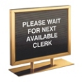 """Counter Directory in Satin Brass Finish - 14"""" x 11"""", 87527"""