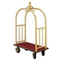 Ball Crown Four Wheel Bellman Cart , 87534