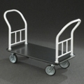 Value Double-Ended Platform Truck with Vinyl Deck, 87543