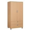 "Two Door Wardrobe Cabinet - 35.5""W, 21345"