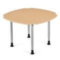 """Square Dining Table  with Caregiver Cut-Outs - 42""""W, 21346"""