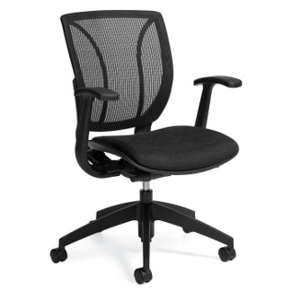 Roma Mid-Back Desk Chair, 56379