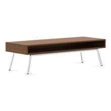 "Modern Coffee Table with Storage - 54""W x 20""D, 75682"