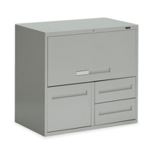 """30""""W 3 Drawer Personal File with Storage, 75700"""