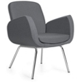 Retro Fabric Guest Chair, 75688