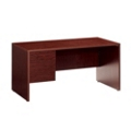 "Left Single Pedestal Desk - 60""W, 10964A"