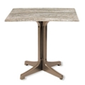 "Rectangular Table with Resin Base - 32""W x 24""D, 46088"