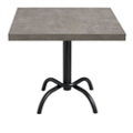 "Table with Metal Base - 24""W  x 20""D, 46092"