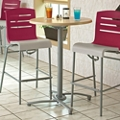 "Breakroom Bar Height Table - 30""DIA, 46212"