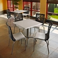 "32""W Table and Four Chairs , 46216"