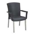 Stacking Outdoor Arm Chair, 51564