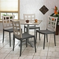 "36""W Table and Four Chairs, 46161"