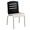 Stacking Chair with Slat Back, 51581