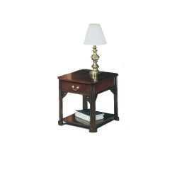 Mahogany Governor Series End Table, 53935