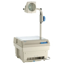 Closed Head Overhead Projector with Lamp Changer, 43275