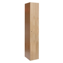 Single Tier Wood Locker, 31856