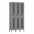 "36""W x 15""D Single Tier Ventilated Locker, 36068"