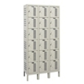 "Assembled 36""W x 15""D Six Tier Ventilated Locker, 36122"