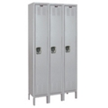 "Three Single Tier Medical Lockers - 45"" W, 36547"