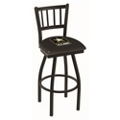 "Military Logo Vertical-Backed Stool -  25""H, 50909"